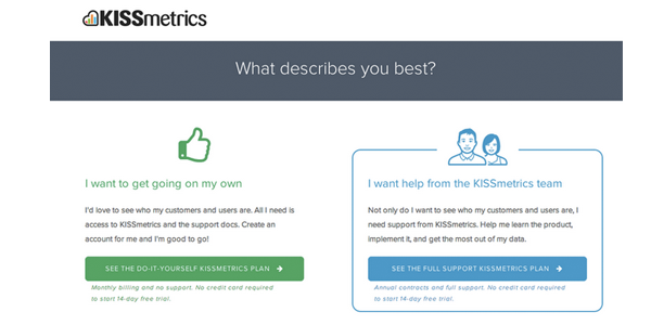 Petithacks   kissmetrics support